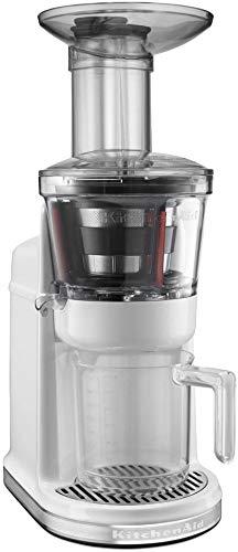 KitchenAid KVJ0111WH Maximum Extraction Juicer, White (RENEWED) CERTIFIED REFURBISHED