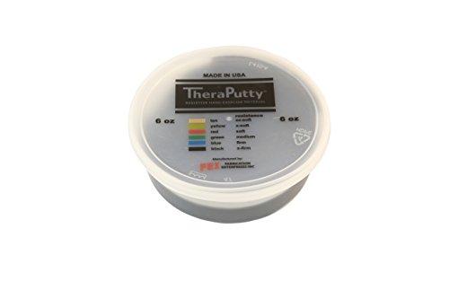 CanDo TheraPutty Plus Anti microbial Black