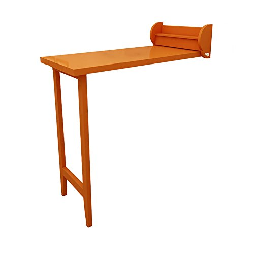 Amazon.com: MS Mesa plegable de madera maciza mesa barra de ...