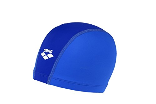 (Arena Unix Jr Youth Swim Cap, Royal/SkyBlue/White)