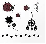 Tatuaje efímero Mujer Get Lucky diseño attrape-rèves: Amazon.es ...