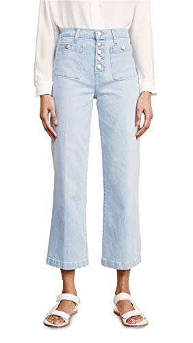 J Brand Women's Joan High Rise Crop Jeans, Elara, Blue, 27 ()