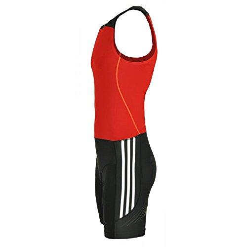 b528a06f88fb85 Adidas adipower Powerweb Weightlifting Suit Gewichtheber Anzug rot    schwarz   weiß 3   XS-S  Amazon.de  Bekleidung