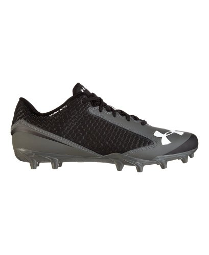 Under Armour Men's UA Nitro Low MC Football Cleats 12 Black