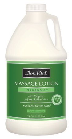 Bon Vital Organica Massage Lotion, 1/2 Gallon Bottle - Bon Vital Organica Lotion