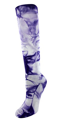 (Sof Sole Women's Women's 5-10, Neon Purple Tie Dye, Women's 5-10)