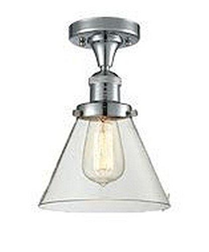 One Light Semi Flush Mount Innovations - Innovations Lighting 517-1CH-PC-G42