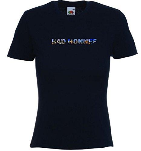 T-Shirt mit Städtenamen Honnef Schwarz zB1eBFL