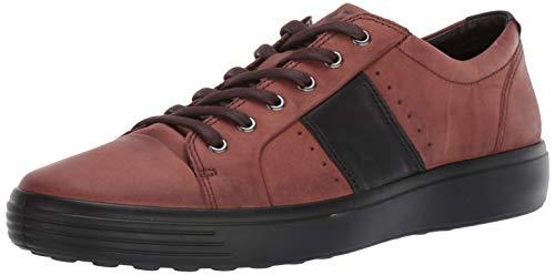 ECCO Men's Soft 7 Sneaker, Brandy/Black Summer, 48 M EU (14-14.5 US) ()