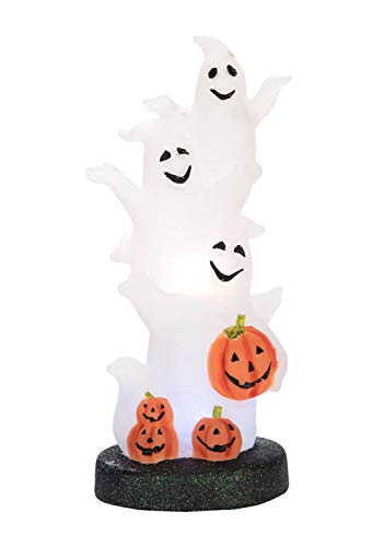 Transpac Imports, Inc. Light up Ghost Pumpkin Spooky