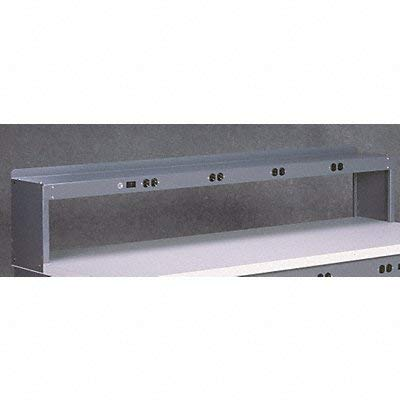 Electrical Shelf Riser, 60Wx15Dx18H, Gray RE-18-1560