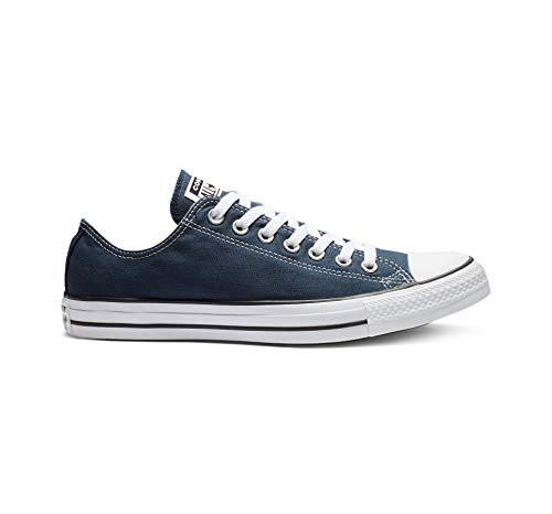 Converse Unisex Chuck Taylor All Star Low Top Navy Sneakers - 8.5 B(M) US Women / 6.5 D(M) US Men