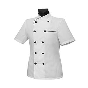 MISEMIYA Chaquetas Chef Uniforme Cocinera Mujer 9