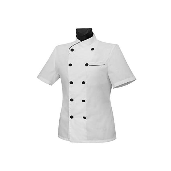 MISEMIYA Chaquetas Chef Uniforme Cocinera Mujer 1