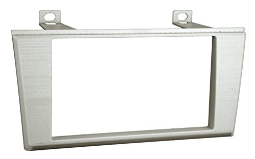 Metra 95-5000S Double DIN Installation Dash Kit for 2000-2006 Lincoln LS or 2002-2005 Ford T-Bird (Silver, Black) (2006 Lincoln Ls Dash)