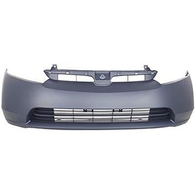 Front Bumper Cover for HONDA CIVIC 2006-2008 Primed 1.3L/1.8L Eng Sedan: Automotive
