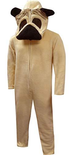 Bioworld Pug Dog Union Suit Onesie-Large