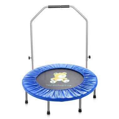 再再販! 2人の子供のためのハンドルが付いている38インチの子供のトランポリン、屋内または屋外の親子のトランポリンの練習 (3 (3 歳 歳 B07QXZP37T +) B07QXZP37T Blue Blue, ジュエリー アヴァンティ:86081b25 --- arianechie.dominiotemporario.com