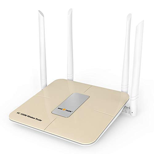 Wise Tiger 1200Mbps Dual Band Wifi Router Extender Combo for Home Office internet