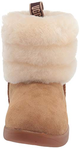 UGG Unisex-Child Fluff Mini Quilted Fashion Boot