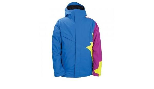 258a6dc3e Amazon.com   686 Snaggletooth Peace Insulated Snowboard Jacket Mens ...