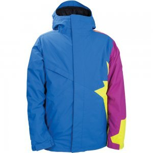 Amazon 686 Snaggletooth Peace Insulated Snowboard Jacket Mens