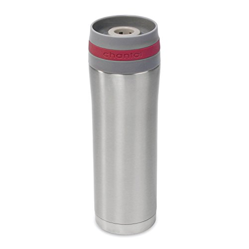 Chantal SL92-T RE Stainless Steel 15-Ounce Travel Mug ()