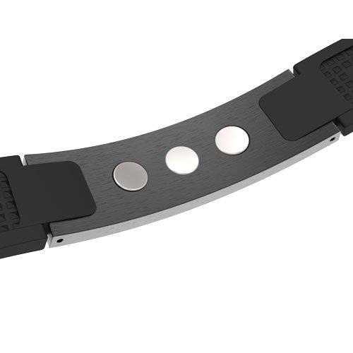 ProExl Magnetic Energy Sports Bracelet Satin Black ProExl Box by ProExl (Image #2)