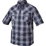BLACKHAWK Men's Plaid 1730 Short Sleeve Shirt, XX-Large, Admiral Blue