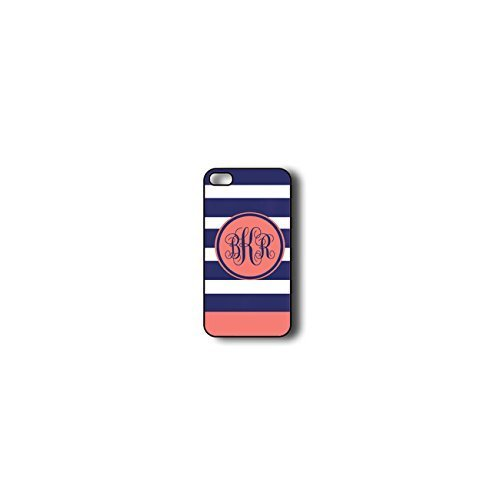 Krezy Case Monogram iPhone 5s Case, Colorful stripes Pattern Monogram iPhone 5s Case, Monogram iPhone 5s Case,...
