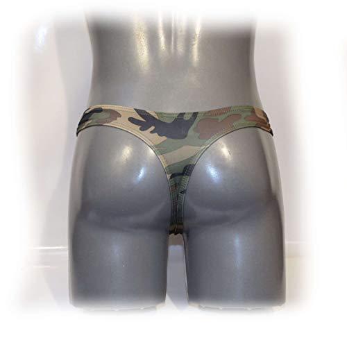 Sexy Bulge Mens Situación M Pouch Camourf Perizoma Dimensioni 8zwxqvwU