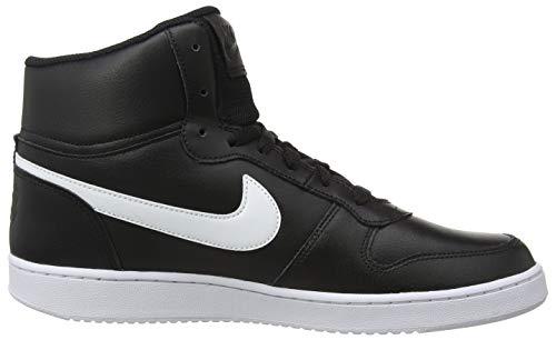 Negro 002 black Para white Mid Zapatillas Hombre Altas Ebernon Nike ZRqTgT