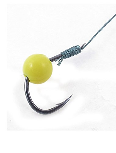 Carp Chub poisson Feeder Spring Swivel Tackle Pêche Crochet 9 # 2pcs