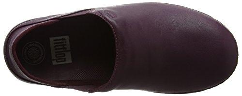 Fitflop Superloafer Dames Slipper Violet (deep Plum)