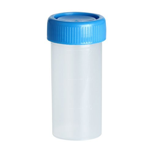 Karter Scientific 209I2 Specimen Cup Container, 40ml Vol, Grad each 10ml, PP material (Pack of 500) by Karter Scientific (Image #1)
