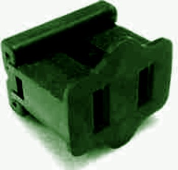 USA Wholesaler - 10879976 - Electrical Receptacle, female, green, slide-on Case Pack 50