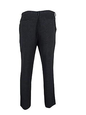 Calvin Klein Mens Textured Straight Fit Dress Pants