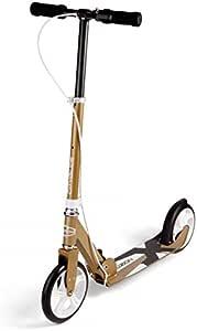 Fuzion Cityglide B200 Patinete para w/Freno de Mano - 99,79 kg límite de Peso - Se dobla - Manillar Ajustable - Suaves y rápidos