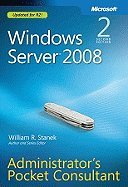 Windows Server 2008 Administrator`s Pocket Consultant 2ND EDITION [PB,2009] pdf epub