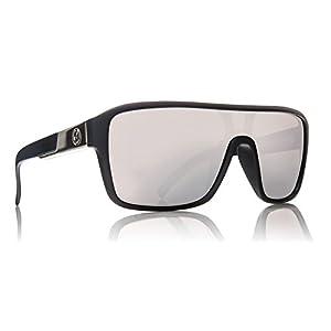 Dragon Alliance Matte Black Silver Ion Remix Sunglasses