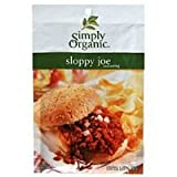 Simply Organic Sloppy Joe, Seasoning Mix, Certified Organic, 1.41-Ounce Packets (Pack of 12) ( Value Bulk Multi-pack)