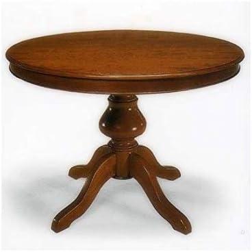 Mesa de madera extensible redonda con pata lisas, 120 – como en ...