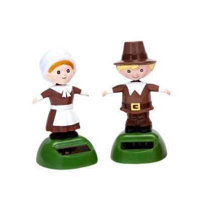 Solar Dancing Pilgrims (Set of 2): Toys & Games