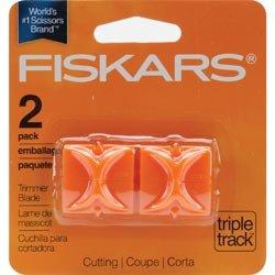 Bulk Buy: Fiskars Triple Track Replacement Blades 2/Pkg Straight I9675 (3-Pack) by Fiskars