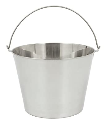Bayou Classic 4835 Stainless Beverage Bucket, 3.5-Gallon