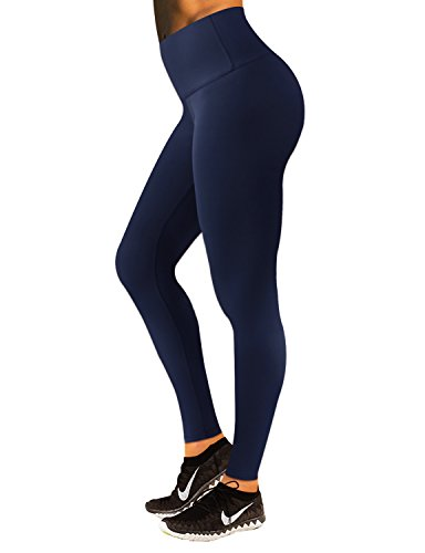 BUBBLELIME Yoga Pants Running Pants High Waist Yoga Leggings Tummy Control Hidden Pocket(Long Pants&Capris)