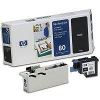 Printhead Blk - HP C4820A HP C4820A GENUINE 80 BLK PRINTHEAD DSNJ