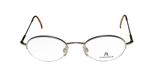 2c78b617551 Rodenstock R4262 Mens Womens Prescription Ready Classy Designer Half-rim  Spring Hinges Eyeglasses Eyeglass Frame (45-20-135