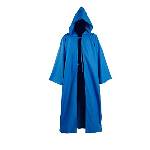 Joyshop Mens Halloween Witch Cosplay Robe Costume Adult