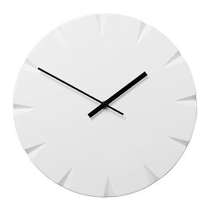 IKEA VATTNA - Reloj de pared, blanco